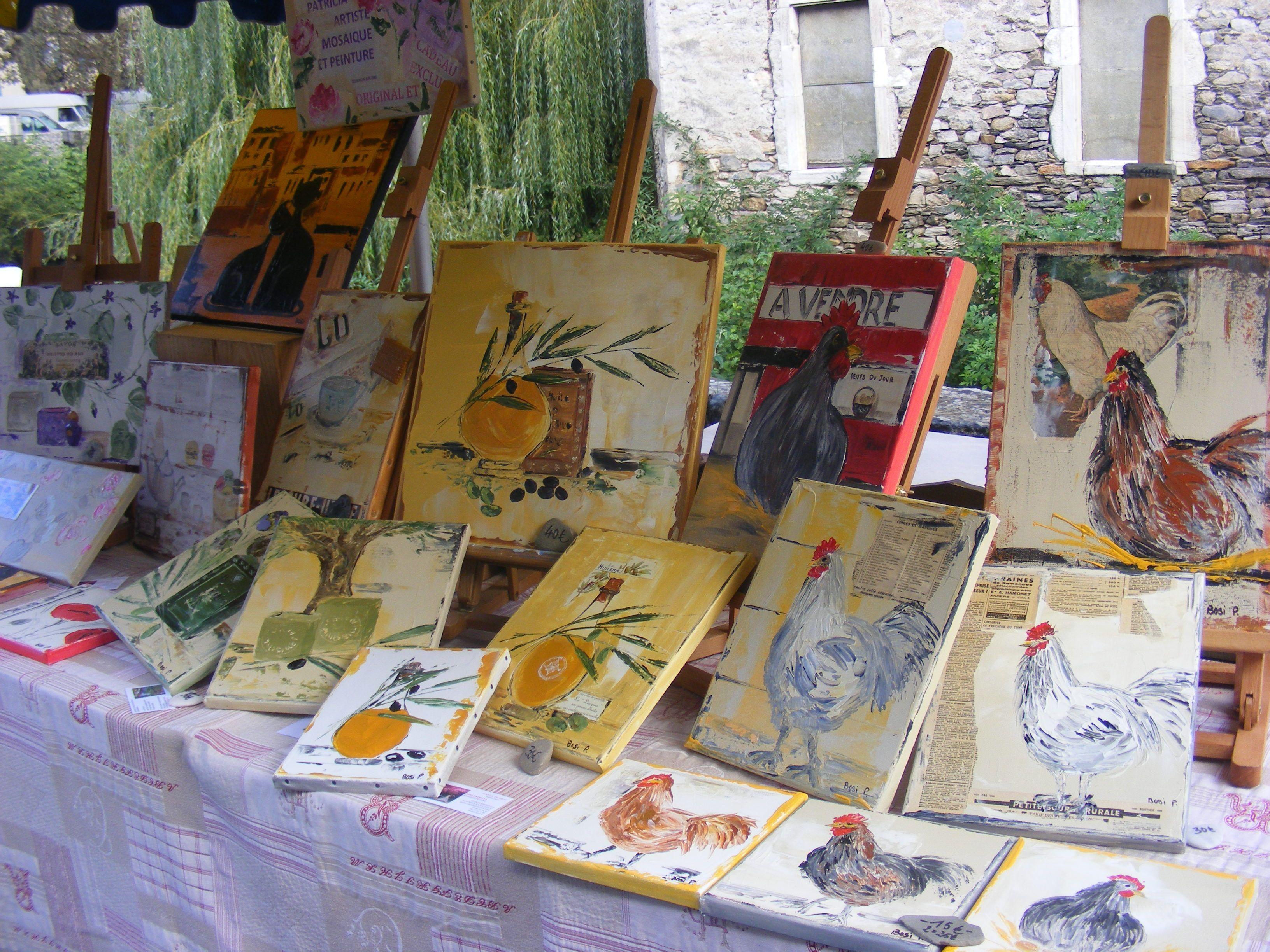 Peinture et mosaique for Peinture mosaique